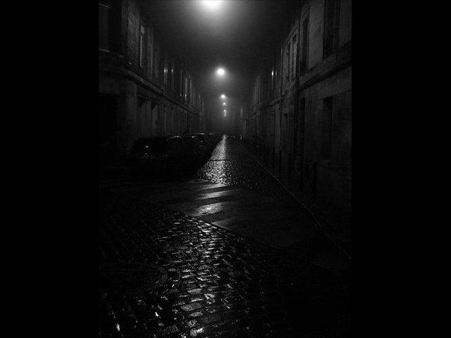 Неосвещенная улица AVI - YouTube