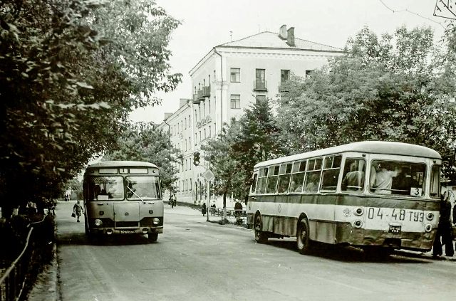 автобусы на пьяном