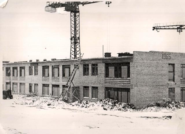 Строительство д.сада 2 мкрн.